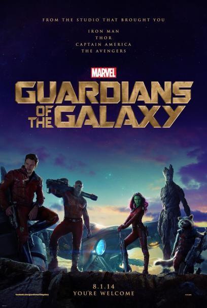 Guardians of the Galaxy: la locandina del film