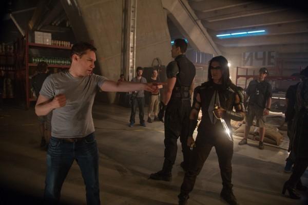 X-Men: Giorni di un futuro passato - Bryan Singer illustra una scena di combattimento a Boo Boo Stewart