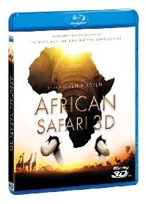 La copertina di African Safari 3D (blu-ray)
