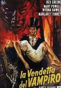 La copertina di La vendetta del vampiro (dvd)