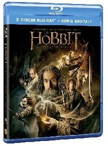 La copertina di Lo Hobbit: la desolazione di Smaug (blu-ray)