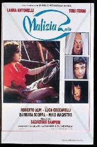 La copertina di Malizia 2000 (dvd)