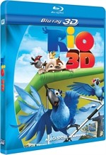 La copertina di Rio 3D (blu-ray)