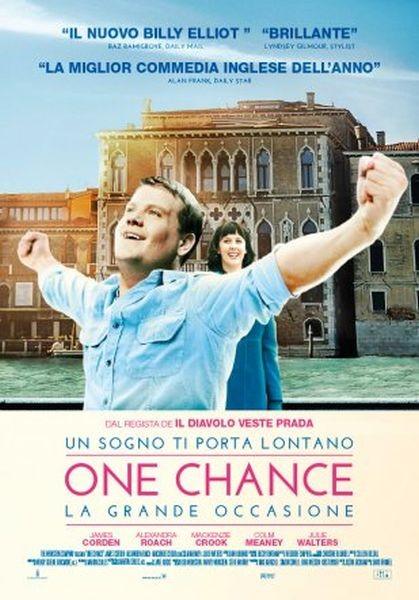One Chance: la locandina italiana