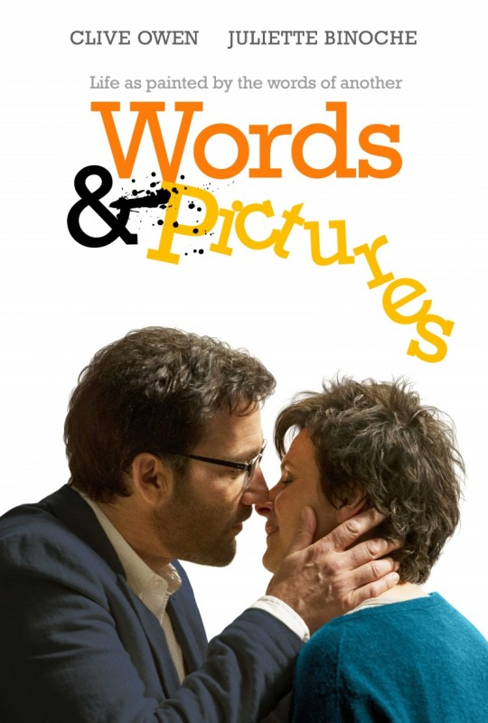 Words and Pictures: il poster del film