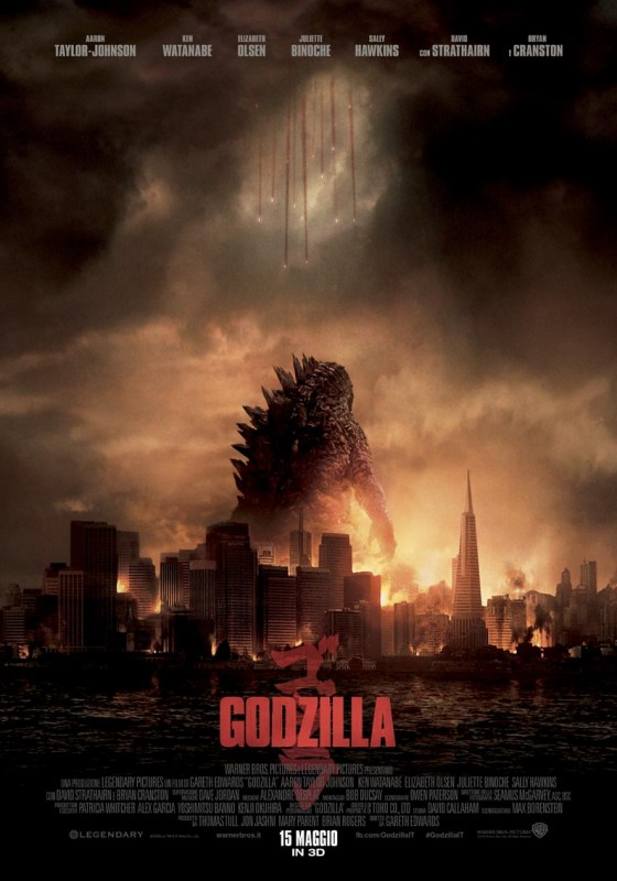 Godzilla: la locandina italiana
