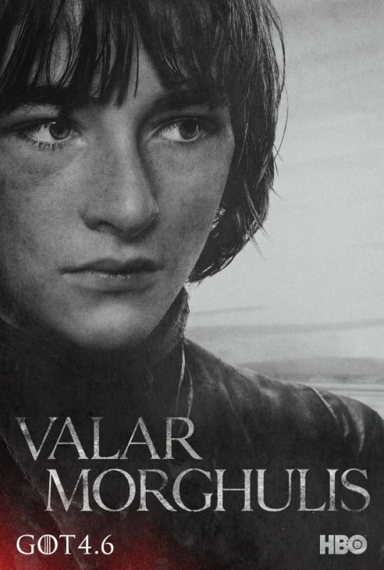 Il trono di spade: character poster per Bran Stark per la quarta stagione del serial