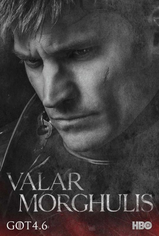 Il trono di spade: character poster per Jaime Lannister per la quarta stagione del serial