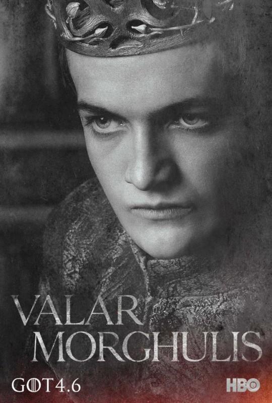 Il trono di spade: character poster per Joffrey Baratheon per la quarta stagione del serial
