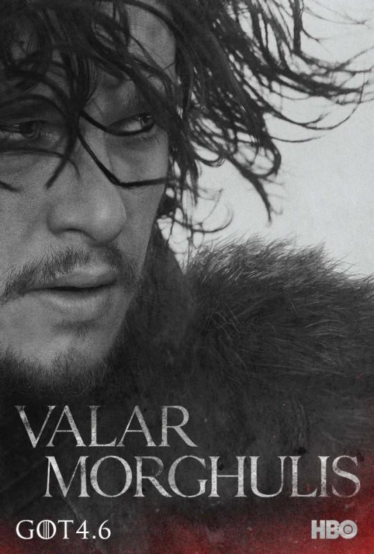 Il trono di spade: character poster per Jon Snow per la quarta stagione del serial