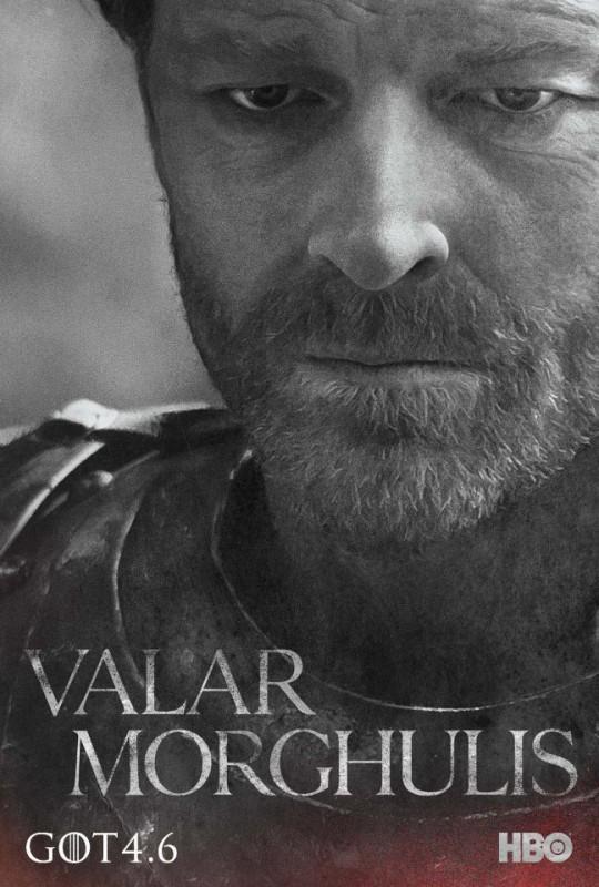 Il trono di spade: character poster per Jorah Mormont per la quarta stagione del serial