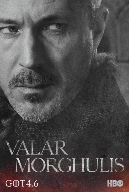 Il trono di spade: character poster per Petyr 'Ditocorto' Baelish  per la quarta stagione del serial