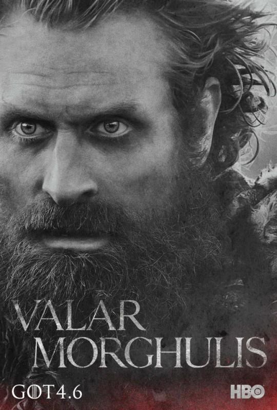 Il trono di spade: character poster per Tormund Giantsbane per la quarta stagione del serial