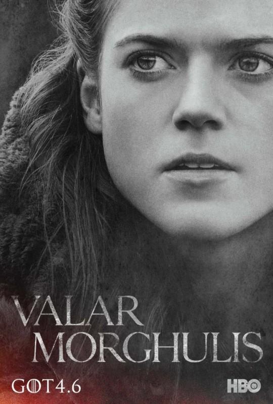 Il trono di spade: character poster per Ygritte per la quarta stagione del serial