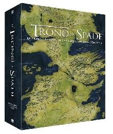 La copertina di Il trono di spade - Stagione 1-2-3 (dvd)