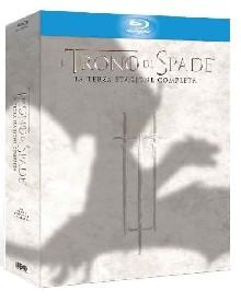 La copertina di Il trono di spade - Stagione 3 (blu-ray)