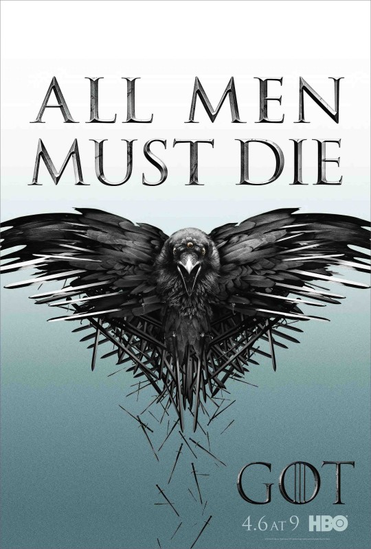 Game of Thrones: il poster della quarta stagione