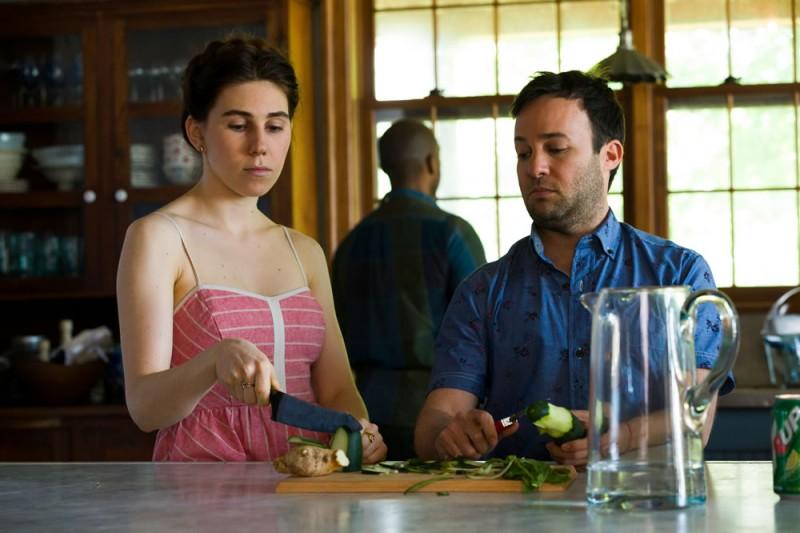 Girls: Zosia Mamet e Danny Strong nell'episodio Beach House della terza stagione