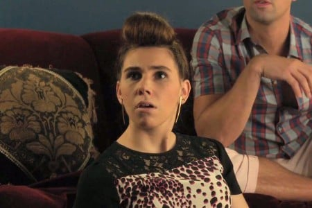 Girls: Zosia Mamet in una scena dell'episodio Incidentals