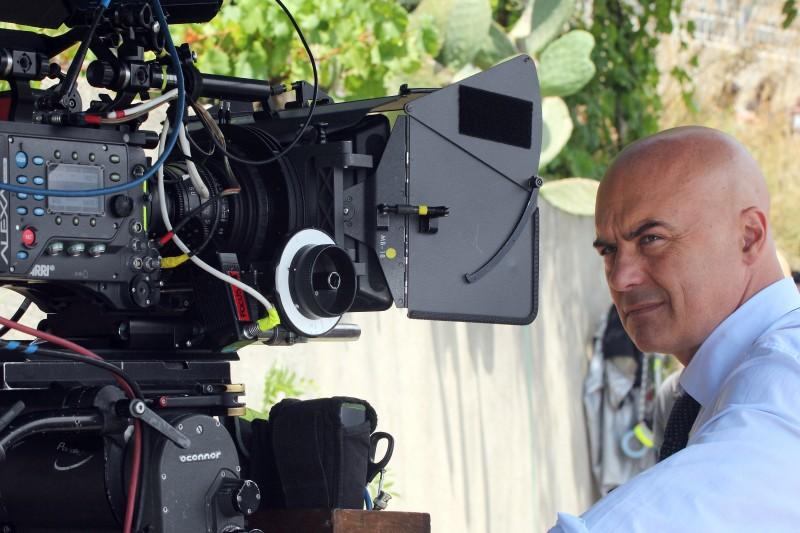 Il giudice meschino: Luca Zingaretti sul set della fiction
