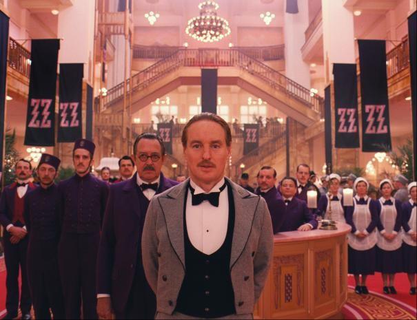 The Grand Budapest Hotel: Owen Wilson in una scena