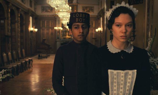 The Grand Budapest Hotel: Tony Revolori e la cameriera Lea Seydoux