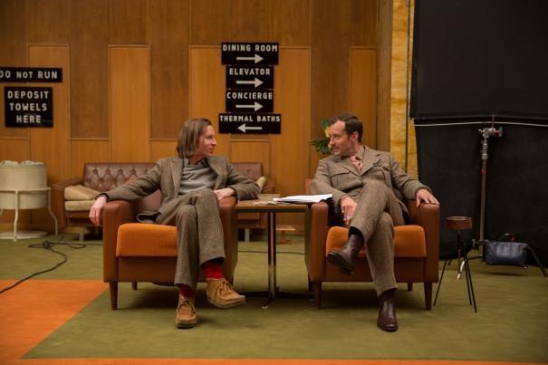 The Grand Budapest Hotel: Wes Anderson e Jude Law conversano sul set