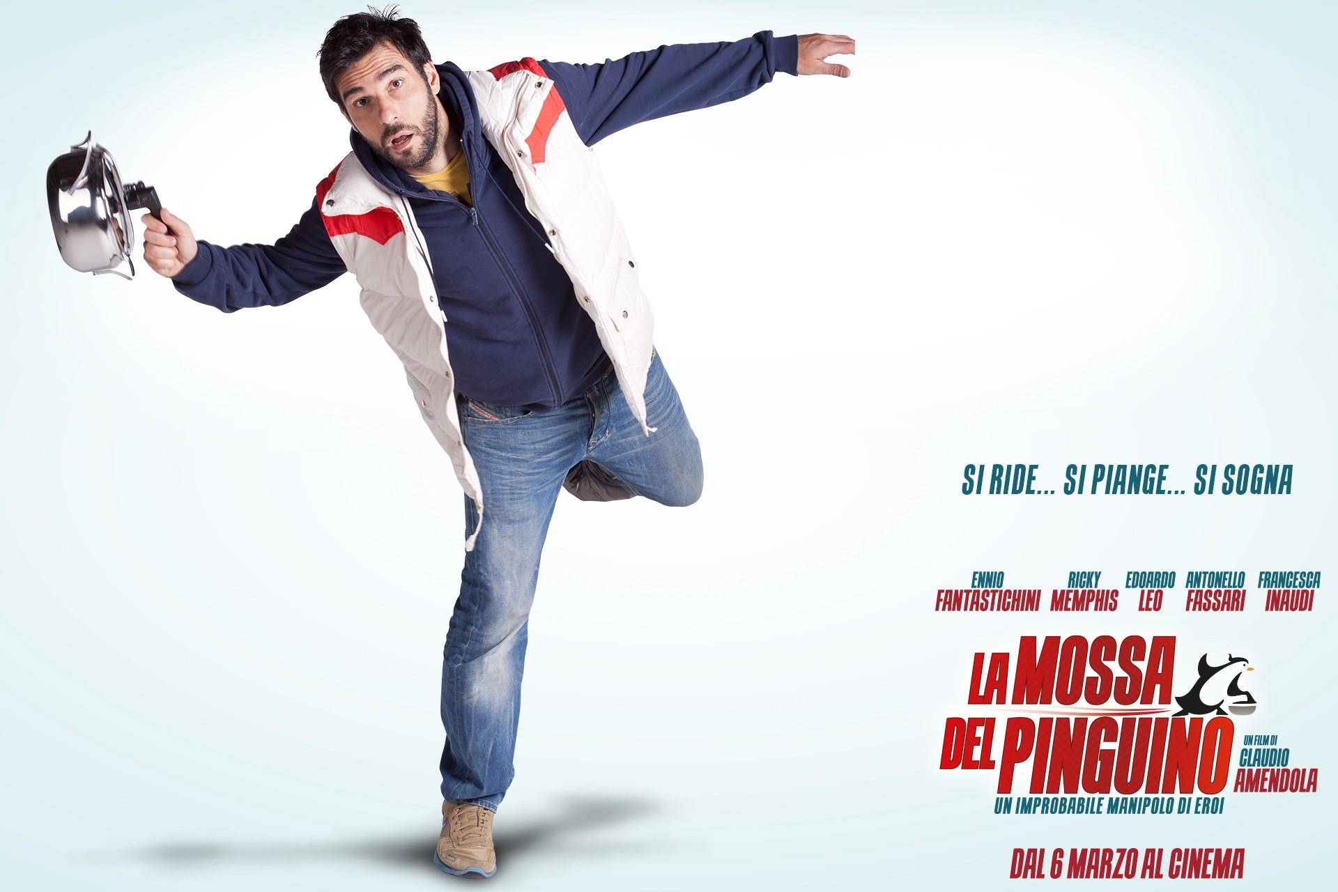La mossa del pinguino: Edoardo Leo nel character wallpaper di Bruno