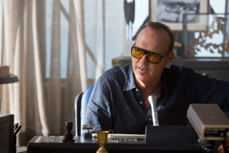 Need for speed: Michael Keaton nei panni di Monarch in una scena del film