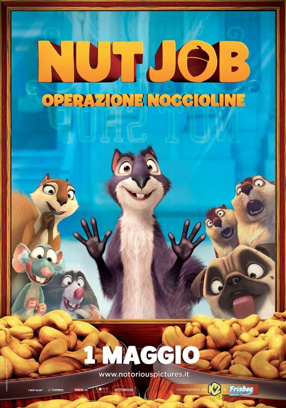 Nut Job: la locandina italiana