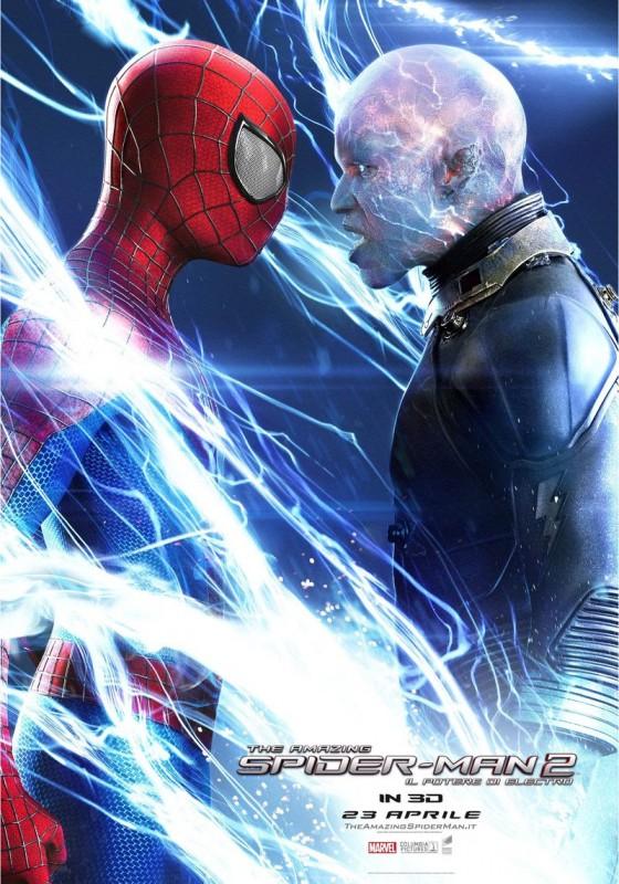 The Amazing Spider-Man 2: Spider-Man contro Electro nella locandina italiana