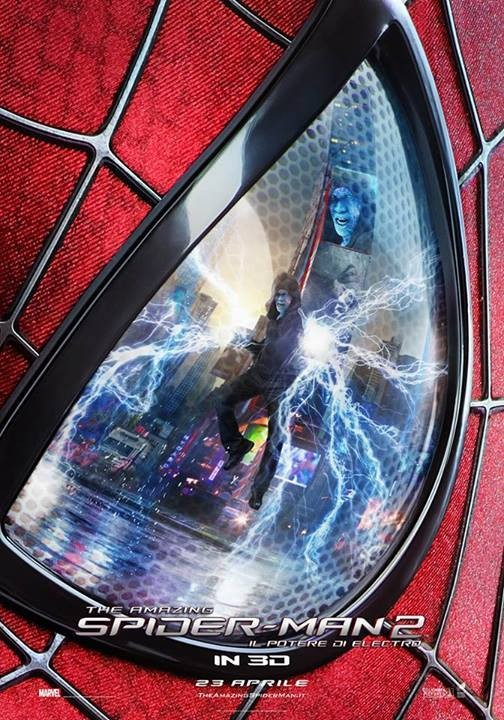 The Amazing Spider-Man 2: uno dei poster italiani del film