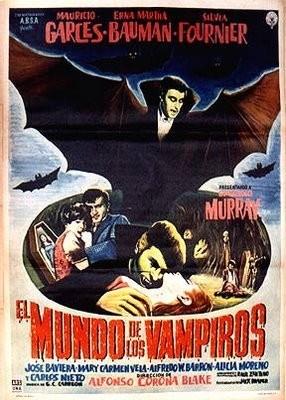 La vendetta del vampiro: la locandina del film