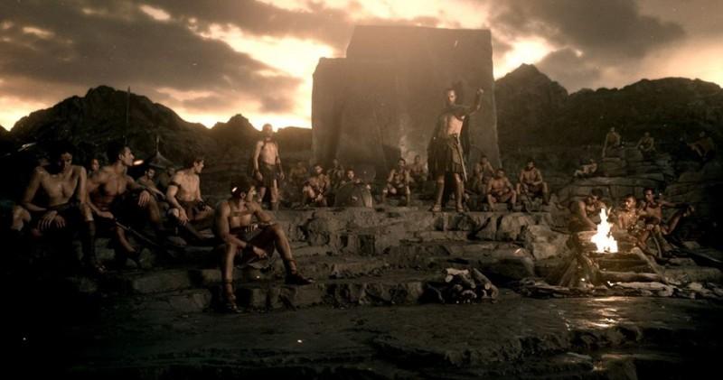 300 - L'alba di un impero: una scena del film
