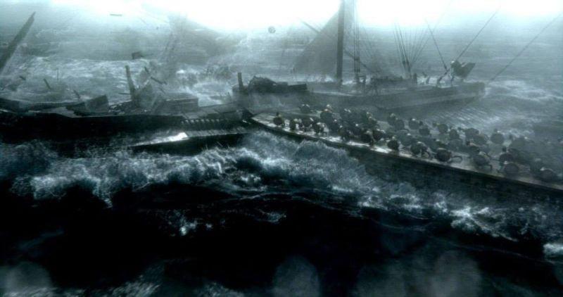 300 - L'alba di un impero: una scena tratta dal film