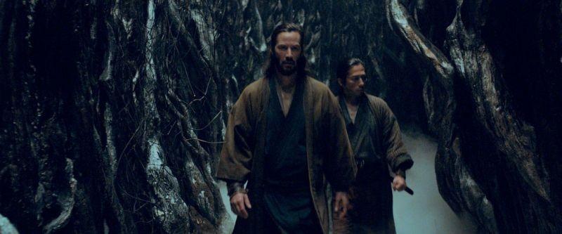 47 Ronin: Keanu Reeves in una scena del film con Hiroyuki Sanada