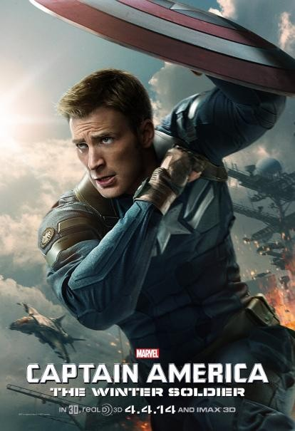 Captain America: The Winter Soldier: il nuovo character poster di Chris Evans