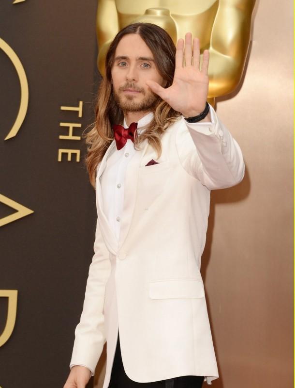 Jared Leto sul red carpet degli Oscar 2014