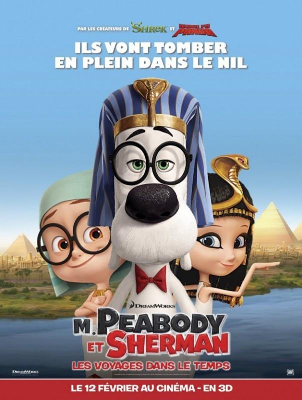 Mr. Peabody & Sherman: nuova locandina francese