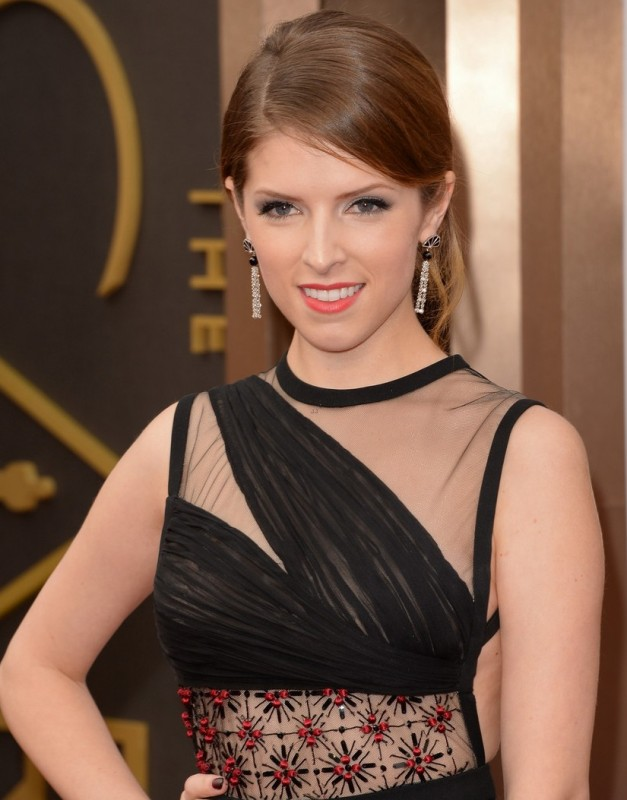 Oscar 2014 - Anna Kendrick  sul red carpet.