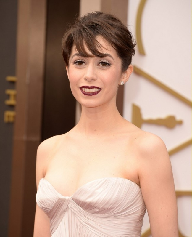 Oscar 2014 - Cristin Milioti sul red carpet.