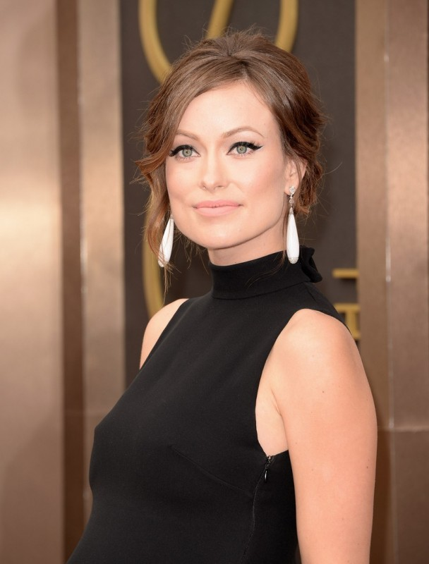 Oscar 2014 - Olivia Wilde sul red carpet.