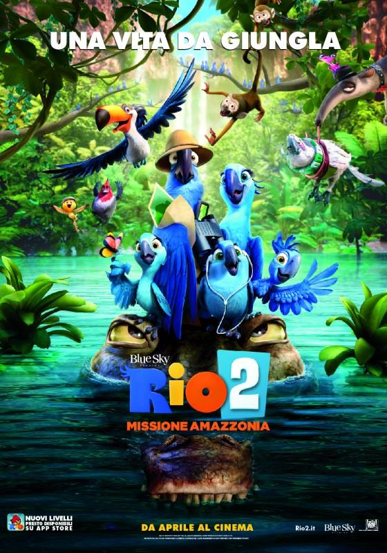 Rio 2: la locandina italiana