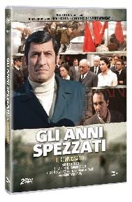 La copertina di Gli anni spezzati - Il Commissario (dvd)