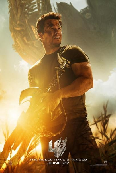 Transformers: Age of Extinction - Il character poster di Mark Wahlberg