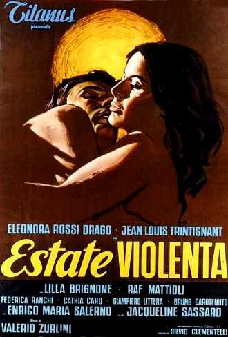 Estate violenta: la locandina del film