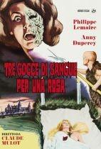 La copertina di Tre gocce di sangue per una rosa (dvd)