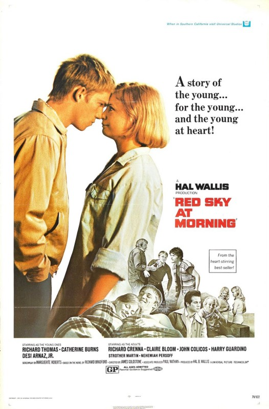 Red sky at morning: la locandina del film
