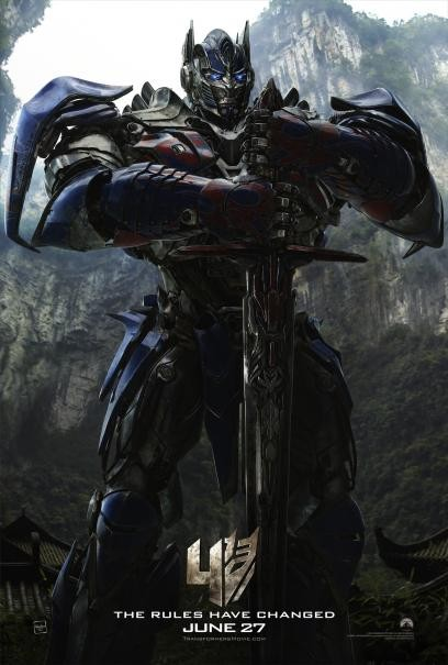Transformers: Age of Extinction - Il character poster di Optimus Prime