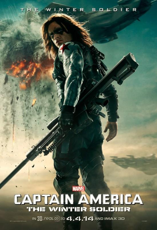 Captain America: The Winter Soldier: il character poster di Sebastian Stan